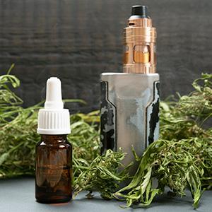 E-liquids of CBD